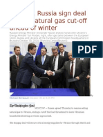 Ukraine, Russia sign deal to end natural gas cut-off ahead of winter.odt