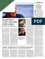 Luciano Berio (L'arte come sfida a tutto campo) - Giornale di Brescia.pdf