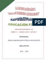 PLAN ANUAL EDUCACIÓN FÍSICA 1° a 7°