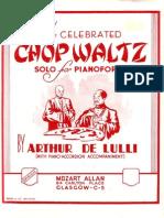 Allen-Lulli - The Celegrated Chop Waltz