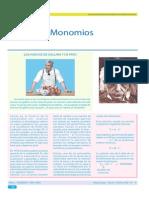 Guía 5 - Monomios