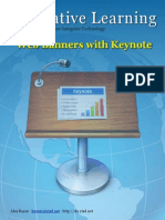 Keynote for Web Page Banners