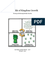 Four Fields of Kingdom Growth - Starting and Releasing Healthy Churches