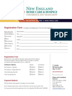2015 NEHCC Attendee Registration Form