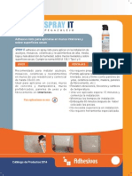 Pegamento spray