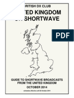 The United Kingdom on Short Wave - Oct 2014