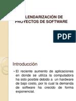 Calendarizaci  de Proyectos Software