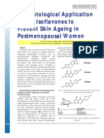 Dermatological Application of Soy Isoflavones to Prevent Skin Aging in Postmenopausal Women CTMWW 20Dermatological A
