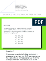 GRE questions