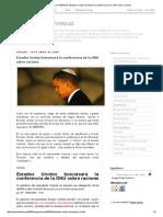 DEVELANDO LA VERDAD_ Estados Unidos Boicoteará La Conferencia de La ONU Sobre Racismo