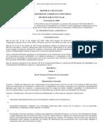 Decreto Ejecutivo No.46 Del 23 de Junio de 2009