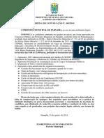 Edital de Convocaçao 003-2014