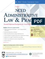 CI Advanced Admin Law and Practice