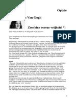 Nausicaa Marbe Over Het Zombiewezen van Marjan Boelsma