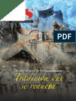 Revista Armas y Servicio N° 90. 100 años del Arma de Telecomunicaciones. Tradición que se renueva. (2011)