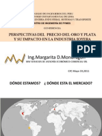 Perspectiva del Oro y la Plata y su impacto en la Industria Joyera