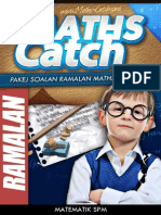 Pakej Soalan Ramalan Maths Catch [Spm] - Tingkatan 5 (Mcf5-2013)