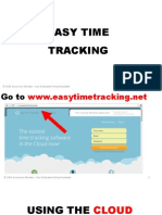 Easy Time Tracking