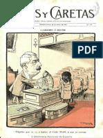 Revista Caras y Caretas (Buenos Aires) N° 242 de 23.May.1903 (Homenaje a Chile)