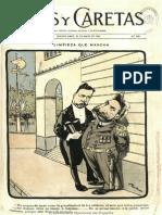 Revista Caras y Caretas (Buenos Aires) N° 243 de 30.May.1903 (Visita Comisión chilena y otros artículos)