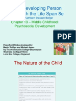 Chapter 13 Middle Childhood Psychosocial Development