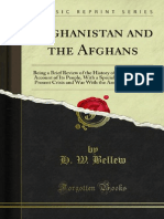 Afghanistan and the Afghans