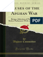 Causes of the Afghan War (1879)