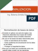 Normalizacion Bd