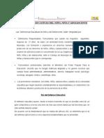 Funciones de Los y Las Denfensores y Promotores Educativos.