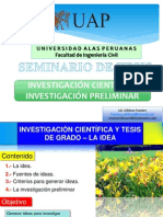 Paso 1 Idea de Investigar Civil