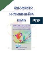 ENSALAMENTO      Comunicações Orais Simpósio SIPLE 2014