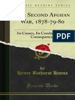 The Second Afghan War, 1878-79-80 (1880)