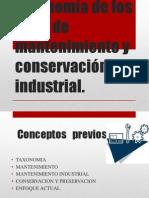 3 Taxonomía de Los Tipos de Mantenimiento y Conservación