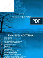 Hplc Trouble Shooting