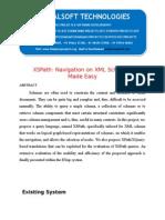 IEEE 2014 JAVA DATA MINING PROJECT XSPath Navigation on XML Schemas Made Easy