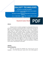 IEEE 2014 .NET DATA MINING PROJECT Keyword Query Routing