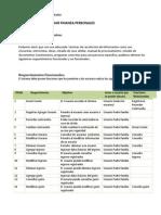 Sistema de Registrar Finalza Personales