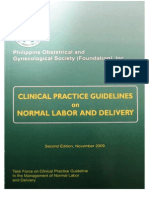 PCOG CPG - Normal Labor and Delivery
