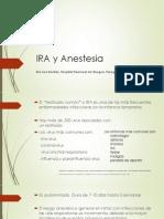 ira y anestesia 2