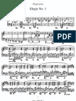 Liszt - Elegie No1