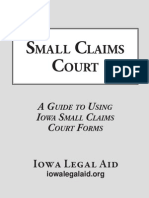 Small Claims Court Jul 2012