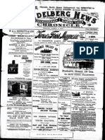 Heidelberg News April 1900