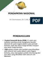 Pertemuan 2_Pendapatan Nasional