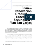 Myriam Zemelman - Plan de Renovación Gradual