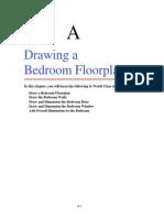 2 Appendix a Drawing a Bedroom Floorplan(1)