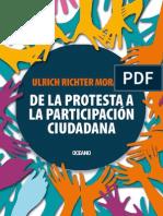 De La Protesta a La Participación Ciudadana