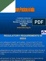 regulatory practices in india