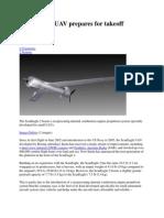 ScanEagle 2 UAV Prepares for Takeoff