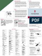 Victorinox - Manual de Uso