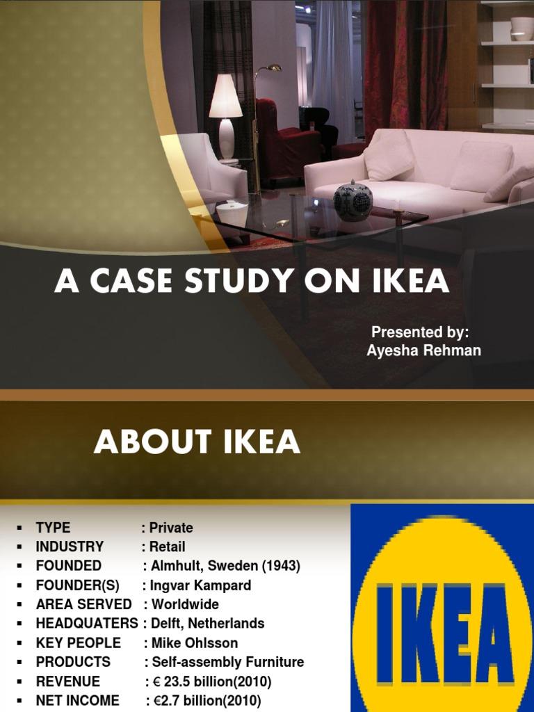 ikea global strategy study